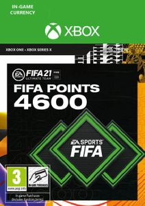 FIFA 21 Ultimate Team 4600 Points Pack Xbox One / Xbox Series X
