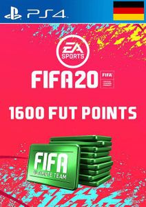 1600 FIFA 20 Ultimate Team Points PS4 (Germany)