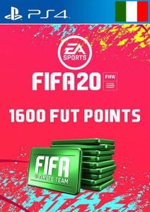 1600 FIFA 20 Ultimate Team Points PS4 (Italy)