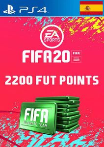 2200 FIFA 20 Ultimate Team Points PS4 (Spain)