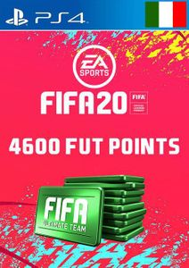 4600 FIFA 20 Ultimate Team Points PS4 (Italy)