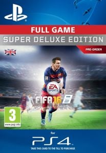 Fifa 16 Super Deluxe PS4 - Digital Code