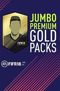 FIFA 18 - Jumbo Premium Gold Packs PC