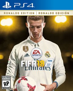 FIFA 18: Ronaldo Edition PS4 US