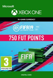 Fifa 19 - 750 FUT Points (Xbox One)