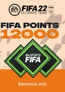 FIFA 22 Ultimate Team 12000 Points Pack PC