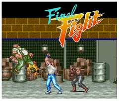 Final Fight 3DS - Game Code (ENG)