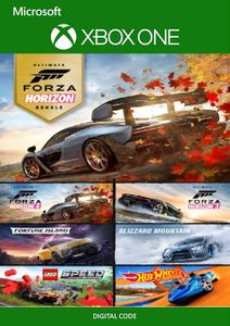 Forza Horizon 4 and Forza Horizon 3 Ultimate Editions Bundle Xbox One (UK)