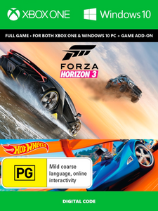 Forza Horizon 3 + Hot Wheels Xbox One/PC