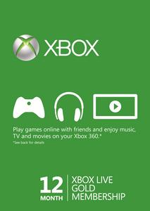 12 maanden Xbox Live Gold-lidmaatschap (Xbox One/360)