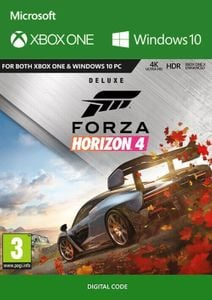 Forza Horizon 4: Deluxe Edition Xbox One/PC UK