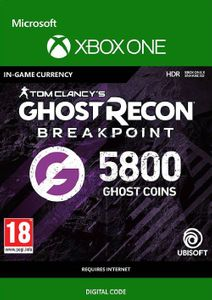 Ghost Recon Breakpoint: 5800 Ghost Coins Xbox One