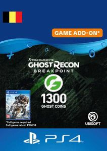 Ghost Recon Breakpoint - 1300 Ghost Coins PS4 (Belgium)