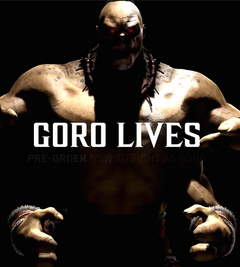 Mortal Kombat X PC Goro DLC