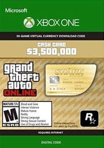 Grand Theft Auto V - Whale Shark Cash Card Xbox One (EU)
