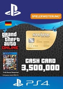 GTA Whale Shark Card PS4 (Germany)