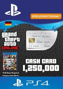 GTA Great White Shark Card PS4 (Germany)
