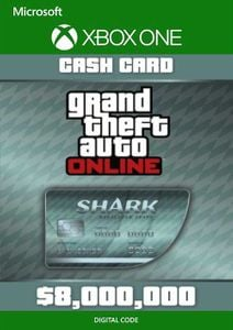 Grand Theft Auto V - Megalodon Cash Card Xbox One (UK)