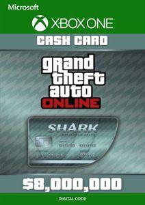 Grand Theft Auto V - Megalodon Cash Card Xbox One (UK)
