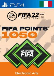 FIFA 22 Ultimate Team 1050 Points Pack  PS4/PS5 (Italy)