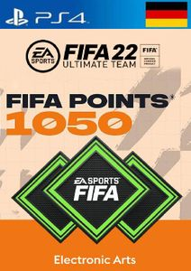 FIFA 22 Ultimate Team 1050 Points Pack  PS4/PS5 (Germany)