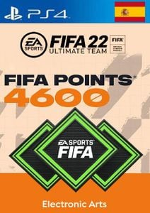 FIFA 22 Ultimate Team 4600 Points Pack  PS4/PS5 (Spain)
