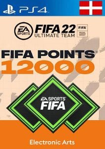 FIFA 22 Ultimate Team 12000 Points Pack  PS4/PS5 (Switzerland)