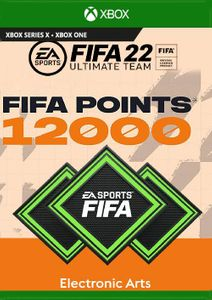 FIFA 22 Ultimate Team 12000 Points Pack Xbox One/ Xbox Series X S