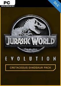 Jurassic World Evolution PC: Cretaceous Dinosaur Pack DLC