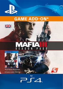 Mafia III 3 Season Pass PS4
