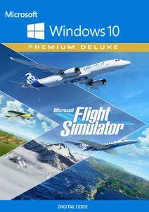 Simulateur de vol Microsoft : Premium Deluxe Windows 10 (Royaume-Uni)