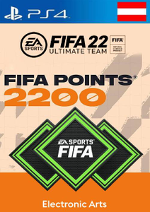 FIFA 22 Ultimate Team 2200 Points Pack  PS4/PS5 (Austria)