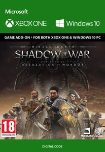Middle-Earth Shadow of War - The Desolation of Mordor Expansion Xbox One/