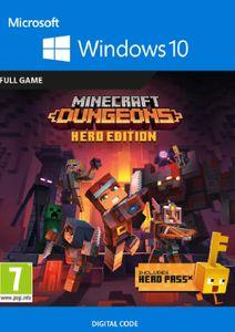 Minecraft Dungeons: Hero Edition - Windows 10 PC (UK)