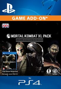 Mortal Kombat X XL Pack PS4