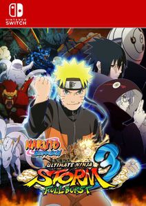 Naruto Ultimate Ninja Storm 3 Switch (EU)