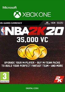 NBA 2K20: 35,000 VC Xbox One