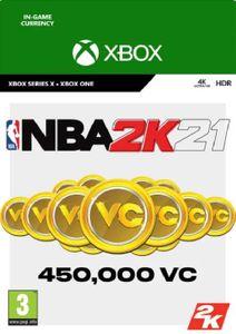 NBA 2K21: 450,000 VC XBOX ONE