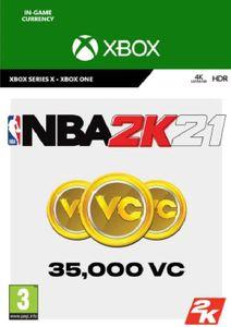 NBA 2K21: 35,000 VC Xbox One