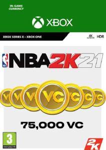 NBA 2K21: 75,000 VC Xbox One