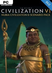 Sid Meier's Civilization VI 6: Nubia Civilization and Scenario Pack PC (WW)