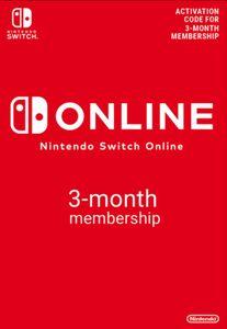 Nintendo Switch Online 3 maanden (90 dagen) lidmaatschap Switch (EU)