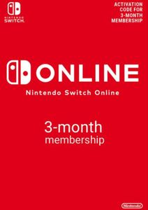 Nintendo Switch Online 3 Month (90 Day) Membership Switch (AUS/NZ)