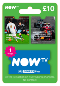 NOW TV - Sky Sports 1 Week Pass