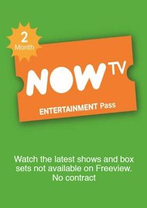 NOW TV - Entertainment 2 Month Pass