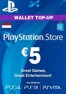 PlayStation Network (PSN) Card - 5 EUR (Netherlands)