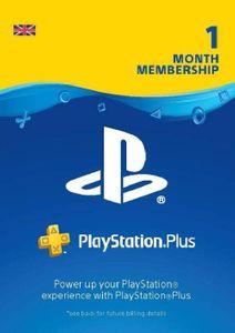 PlayStation Plus (PS+) - 1 maand abonnement (UK)