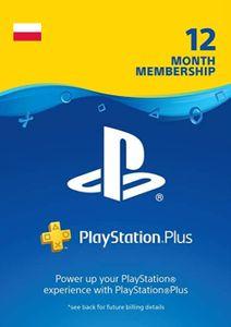 PlayStation Plus - Abonnement de 12 mois (Pologne)