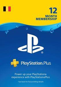 Playstation Plus (PS+) - 12 Month Subscription (Belgium)