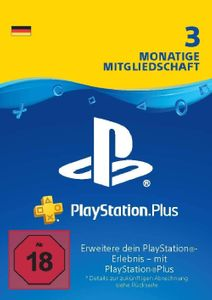 PlayStation Plus - 3 Month Subscription (Germany)